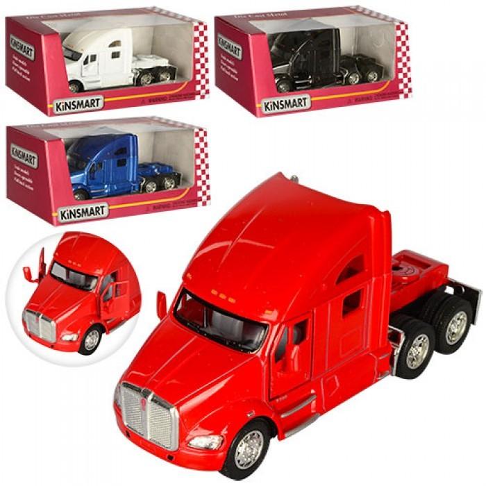 Модельки KINSMART SV000000299 Машинка KT 5357 W (24шт) металл,инер-я, 12cм,рез.колеса,откр.двери,4цвета,в кор-ке,16-8-7см Сайт -